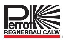 آبپاش پروت Perrot پروت تنظیمی پروت تمام دور آبپاش برنجی آبپاش آلمینیومی آبپاش 1/4 1 اینچی آبپاش آلمان