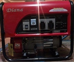 موتور برق دیانا، ژنراتور دیانا